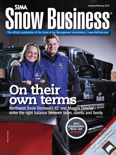 SIMA Magazine - Cover Image - Northwet Snow Removal Feature